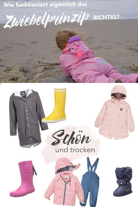 Bei Wind und Wetter: Outdoorbekleidung für Kinder im