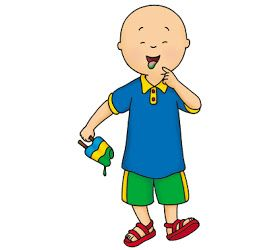 Cartoon Characters Caillou Caillou Character Caillou Party