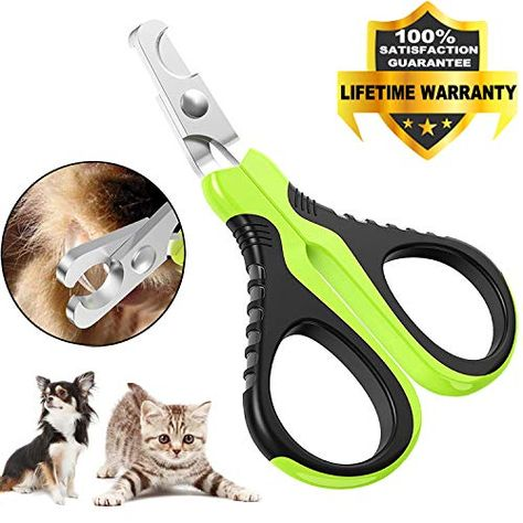 Victhy Pet Nail Clippers For Small Animals Dog Cat Nail Clippers