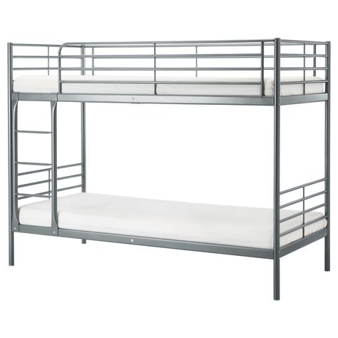 detailed look 9a4fa a39c6 SVÄRTA Bunk bed frame - silver color | Pins I have done in ...