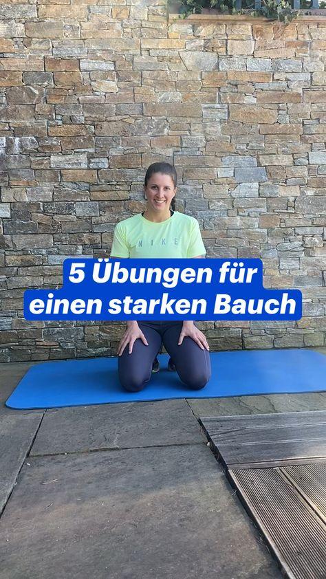 5 Übungen für  einen starken Bauch