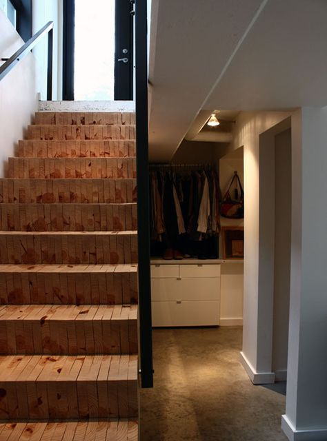 Stacked stairs