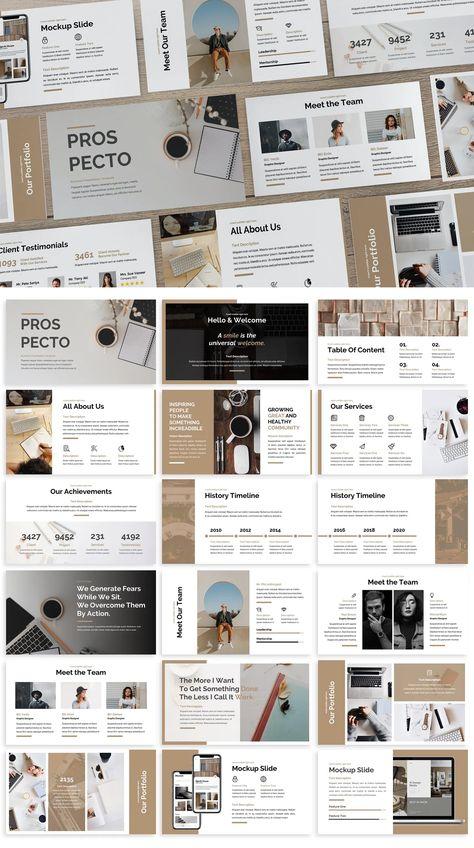 Business PowerPoint Template. 30 Unique Slides.