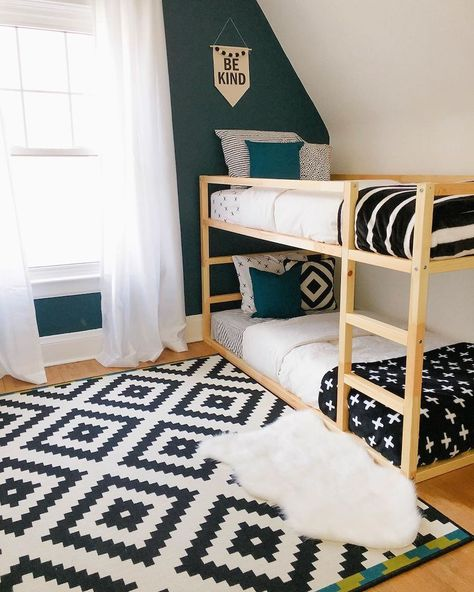 42 Kids Rooms: Shared Bedroom Ideas - Ikea DIY - The best IKEA hacks all in one place