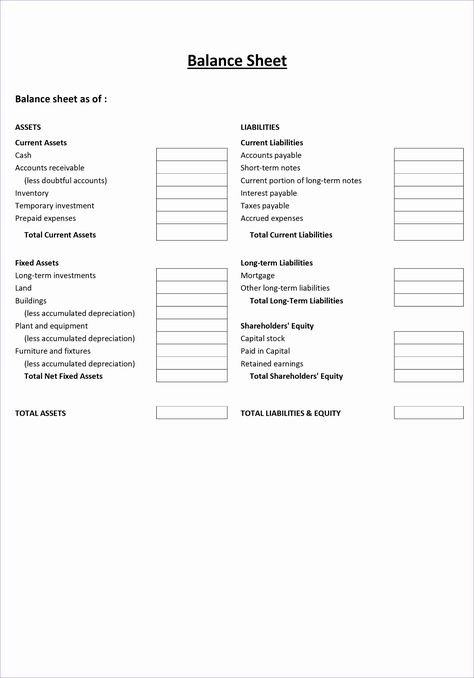 Non Profit Balance Sheet Template Excel In The Event That You Manage A Group Employee Or Busy Balance Sheet Template Balance Sheet Statement Template