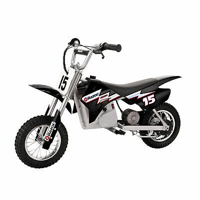 Advertisement Ebay Razor Mx400 Dirt Rocket 24v Electric Toy Motocross Motorcycle Dirt Bike Black Electric Dirt Bike Motocross Bikes Motorcycle Dirt Bike