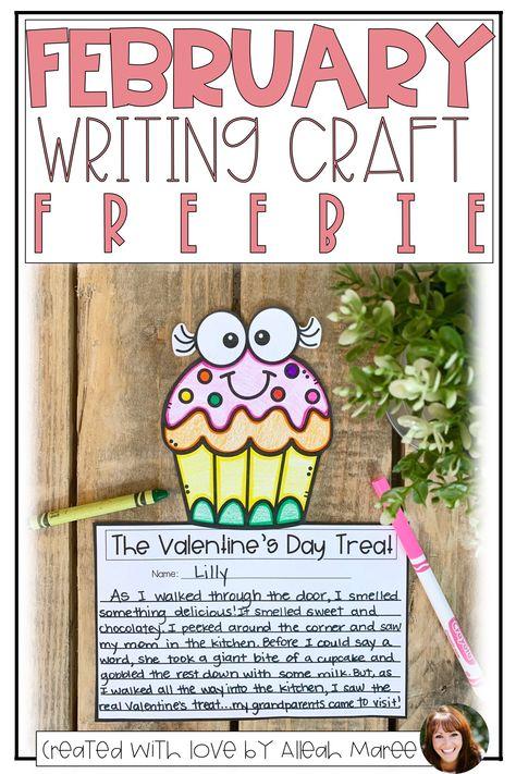 February Writing Craft FREEBIE | TPT (Teachers Pay Teachers