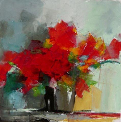 Garance Peinture Naturelle Fleurs Abstraites