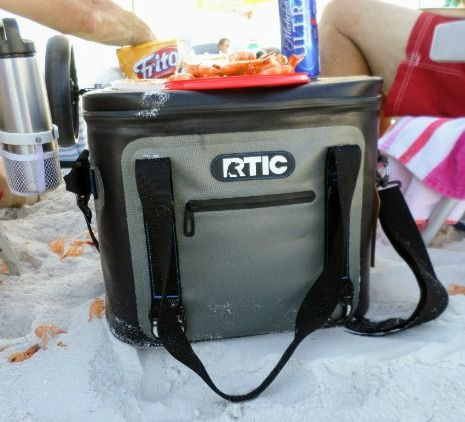 Beach Hacks For Keeping Food And Drinks Cold Soft Sided Coolers Soft Cooler Beach Fun