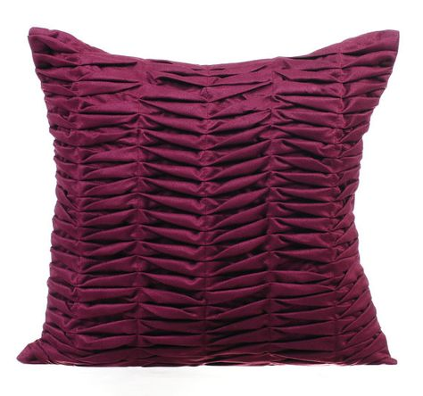 Luxury Pintucks Couch Pillow Cover 16