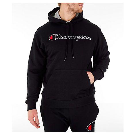 Champion Mens Graphic Sweatshirt Grey
