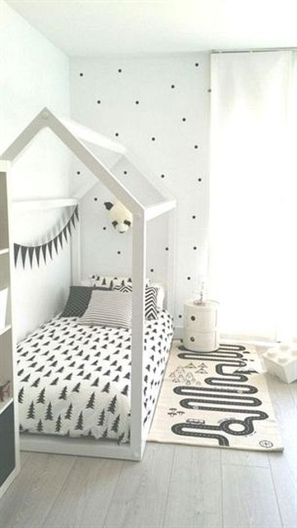 30 Cute And Cozy Floor Bed Designs For Kids Kid Room Decor