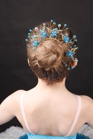 Bun Wrap Tiara For Ballet Clical Dance Or Figure Skating 62 Liked On Polyvore Pinterest Dancing Wraps And Headpieces