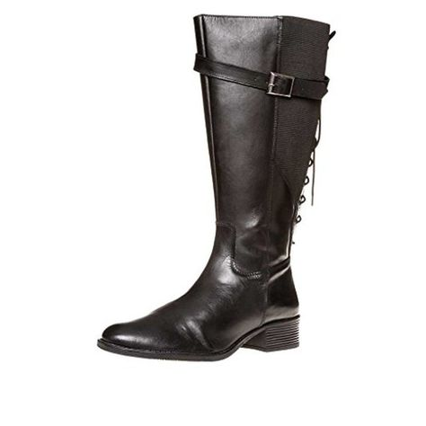sheego Bottes mollet large cuir véritable, Femme #Chaussuresbateau #chaussures http://allurechaussure.com/sheego-bottes-mollet-large-cuir-veritable-femme/