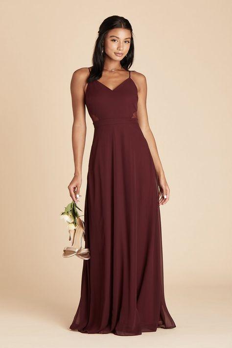Burgundy Bridesmaid Dresses Long, Bridesmade Dresses, Affordable Bridesmaid Dresses, Bridesmaid Dress Colors, Wedding Bridesmaid Dresses, Bridesmaids, Maroon Prom Dress, Bridesmaid Ideas, Burgundy Dress
