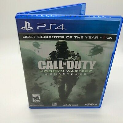 Call Of Duty Modern Warfare Remastered For Playstation 4 Ps4 Cod Mw Callofduty Cod Gaming In 2020 Modern Warfare Call Of Duty Playstation 4