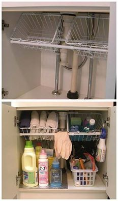 RV cabinet storage | For the Harvest Home | Pinterest | Rv ...