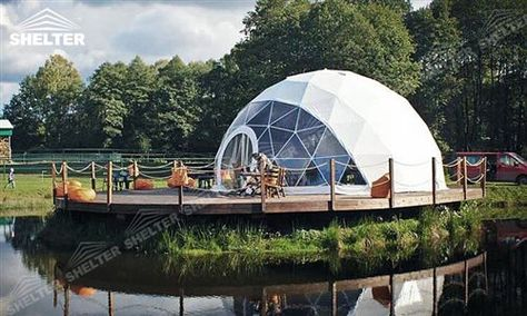 SHELTER - Geodesic Dome Tent - Geodesic Domes - Geodomes for Sale - Geodome Wedding Party Marquee - Commercial Event Tents -98