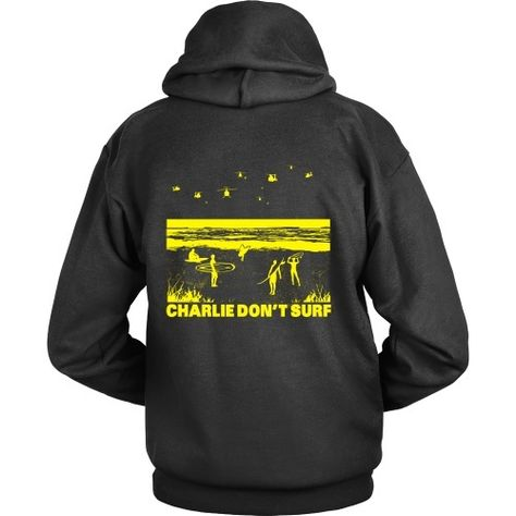 Charlie Don't Surf Hoodies