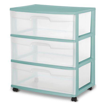 Home In 2020 Plastic Drawers Drawer Cart Storage Bins