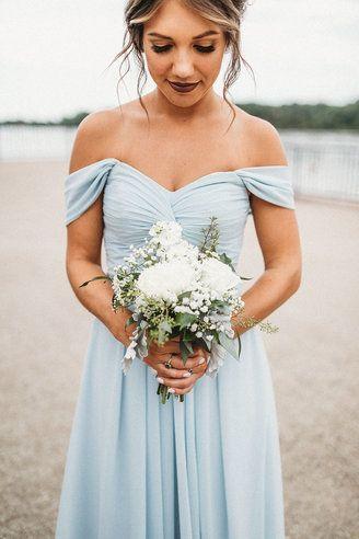 730672b2fbe Azazie Kaitlynn Bridesmaid Dress - Mist