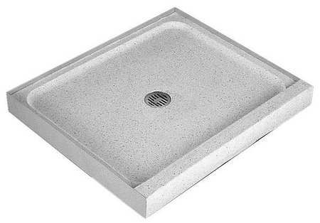 42 X 32 Terrazzo Shower Base 2 Connection Marble Chips