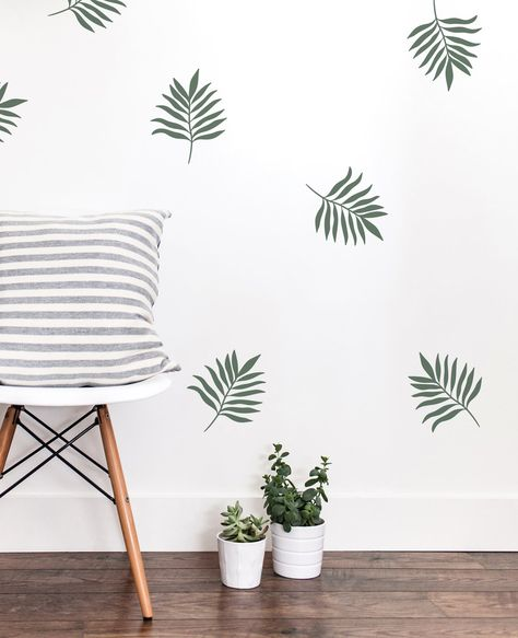 Create the look of wallpaper without all the effort it takes to install it. Wall Decals For Bedroom, Wall Stickers Home Decor, Vinyl Wall Art, Vinyl Decals, Decals For Walls, Office Wall Decals, Wall Painting Decor, Wall Decor, Room Decor
