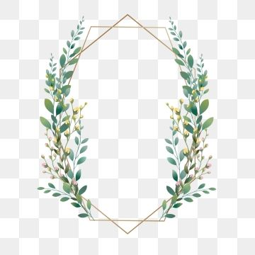 Beauty Png Vector Psd And Clipart With Transparent Background For Free Download Pngtree Green Leaf Background Flower Frame Leaf Background