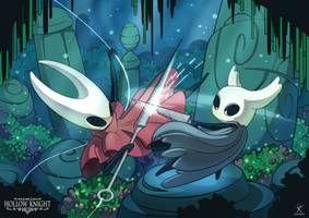 Hollow Knight Hornet Fight By Mrgok Game Art Scene Design Tales From The Borderlands
