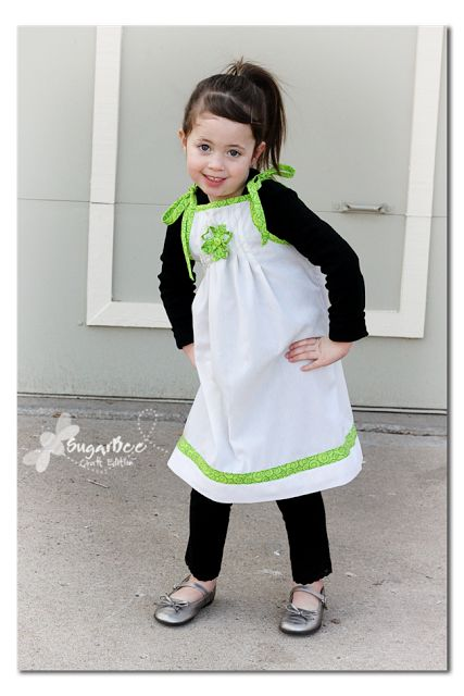 March Pillowcase Dress - St. Patrick's Day