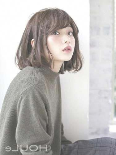 Cute Bob With Bangs Bobhairstyleswithbangs Korean Short Hair Bangs Korean Short Hair Hairstyles With Bangs