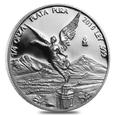 2019 1 4 Oz Mexican Silver Libertad Coin 999 Fine Proof In Cap Silver Bullion Coins Silver Bullion Silver