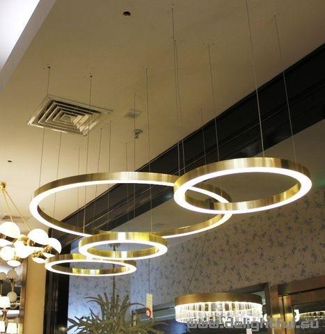 Replica Henge Light Rings Horizontal 4 Rings In 2020 Light Ring Lamp Design Light Fixtures
