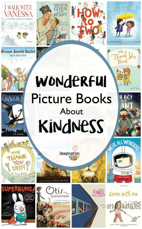 30 Picture Books About Kindness Good Books, Books To Read, My Books, Reading Books, Best Children Books, Childrens Books, Books For Autistic Children, Books About Kindness, Social Emotional Learning