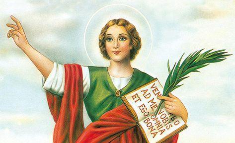 Glorioso San Pancracio Abogado Especial Para Alcanzar Salud Dinero Y Trabajo Santo Protector De Los Q San Pancracio Oraciones Catolicas Milagrosas Oraciones