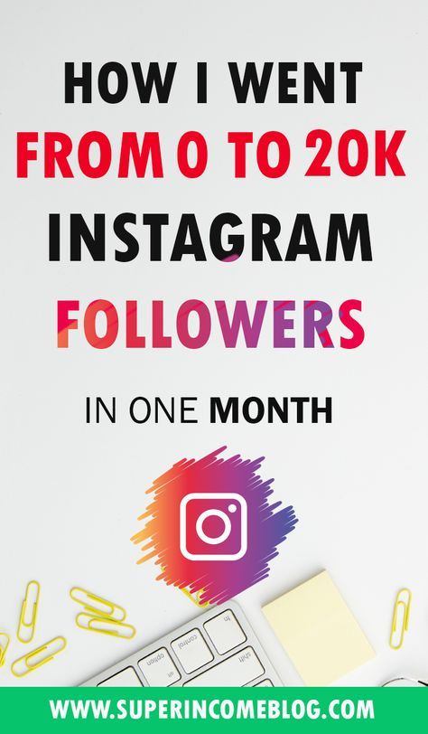 How To Get Real Followers On Instagram in 2019 From 0 to 20k Followers In One Month