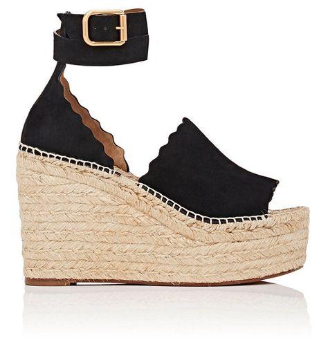 e036dc5cdfc CHLOÉ Lauren Suede Espadrille Sandals.  chloé  shoes  all