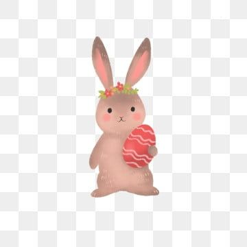 Hand Drawn Cute Easter Bunny And Egg Rabbit Egg Bunny Png Transparent Clipart Image And Psd File For Free Download Cute Easter Bunny Cute Clipart Easter Bunny
