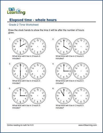 Elapsed Time Worksheets Free Simple Elapsed Time Worksheets Time Worksheets Telling Time Worksheets Time and calendar worksheets