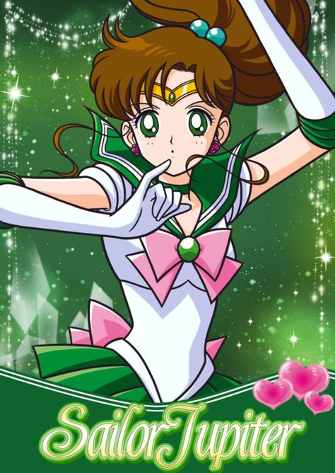 Sailor Moon Crystal 3/'/' Sailor Jupiter Stained Glass Style Key Chain NEW