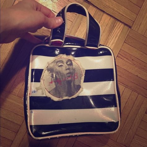 Vintage Andy Warhol Marilyn Monroe Makeup Bag This is a rare