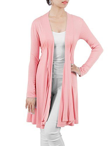 Womens Cardigans H2h Womens Open Front Draped Basic Designed