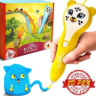 Medoozy Pluma 3d Juguetes Ideales Para Niños Y Adolescentes Mejores Ideas De Regalos Para Niños Y Ni Juegos De Manualidades Regalos Para Niños Manualidades