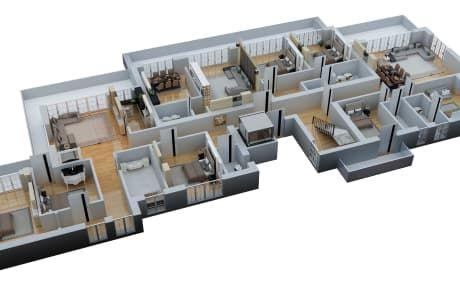 Make 3d Floor Plan 2d Floorplan Rendering By Surrayashabbir House Floor Plans Architecture Building Design Floor Plans