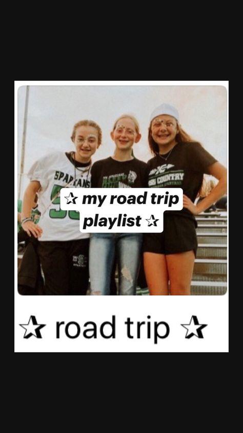 ✰ my road trip playlist ✰