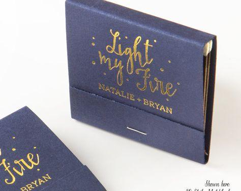 The Perfect Match W Polka Dots Matchbooks Wedding Favors Wedding