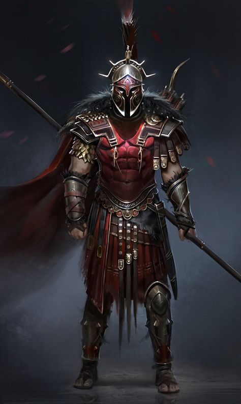 View an image titled 'Hero of Sparta Art' in our Assassin's Creed Odyssey art gallery featuring official character designs, concept art, and promo pictures. Foto Fantasy, 3d Fantasy, Fantasy Armor, Dark Fantasy, Final Fantasy, Arte Assassins Creed, Assassins Creed Odyssey, Assassins Creed Origins, Warrior Concept Art