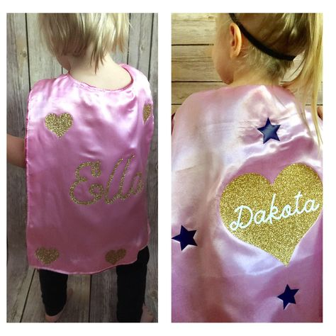 Personalized Girl Cape Set, Girl Cape, Infant cape, Girl's