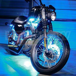 Orange Flexible Motorcycle LED Lights   Art projects ste&unk/diesel-punk trike   Pinterest   Motorcycle lights and Street bikes & Orange Flexible Motorcycle LED Lights   Art projects: steampunk ... azcodes.com