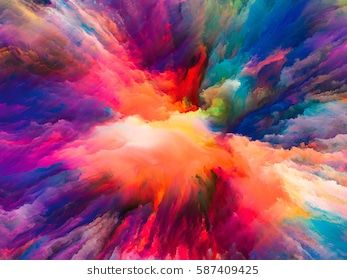 Color Splash Series Background Design Of Fractal Paint And Rich Texture On The Subject Of Imagination Crea Abstract Colorful Backgrounds Abstract Photographs